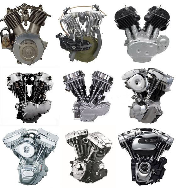 Harley-Davidson-Motoren